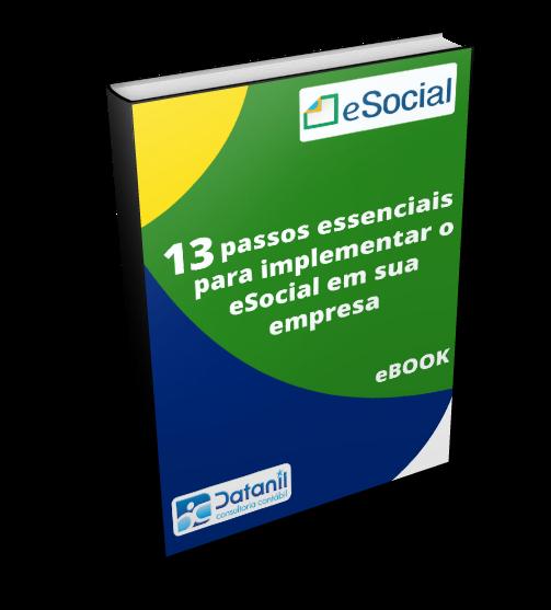 Capa eBook - eSocial 13 passos