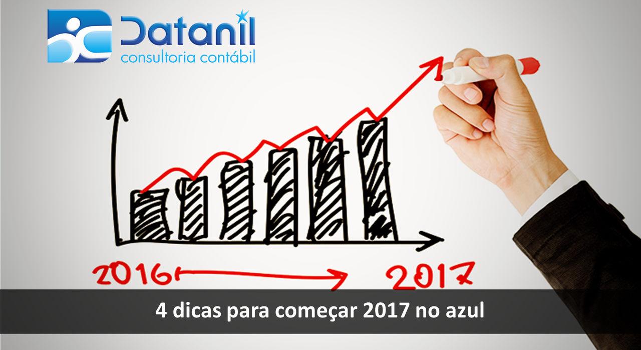 4 Dicas Para Começar 2017 No Azul