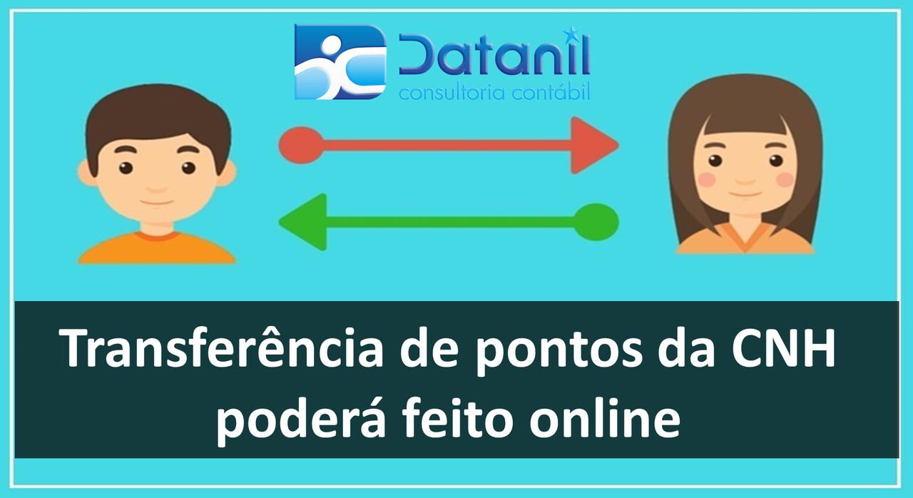 Transferência De Pontos Da CNH Poderá Feito Online