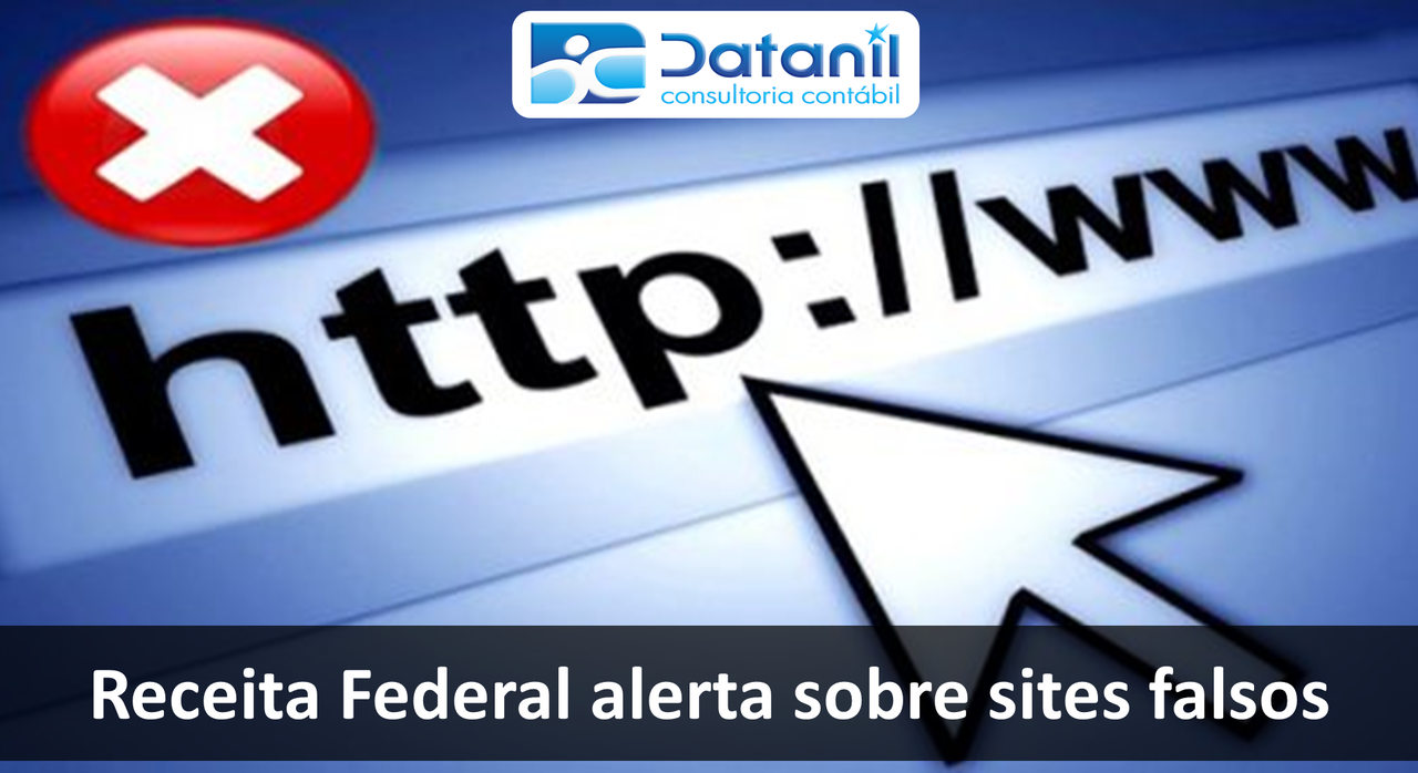Receita Federal Alerta Sobre Sites Falsos