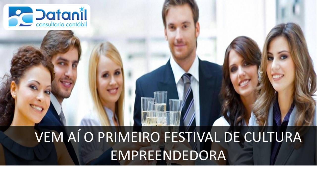 Vem Aí O Primeiro Festival De Cultura Empreendedora