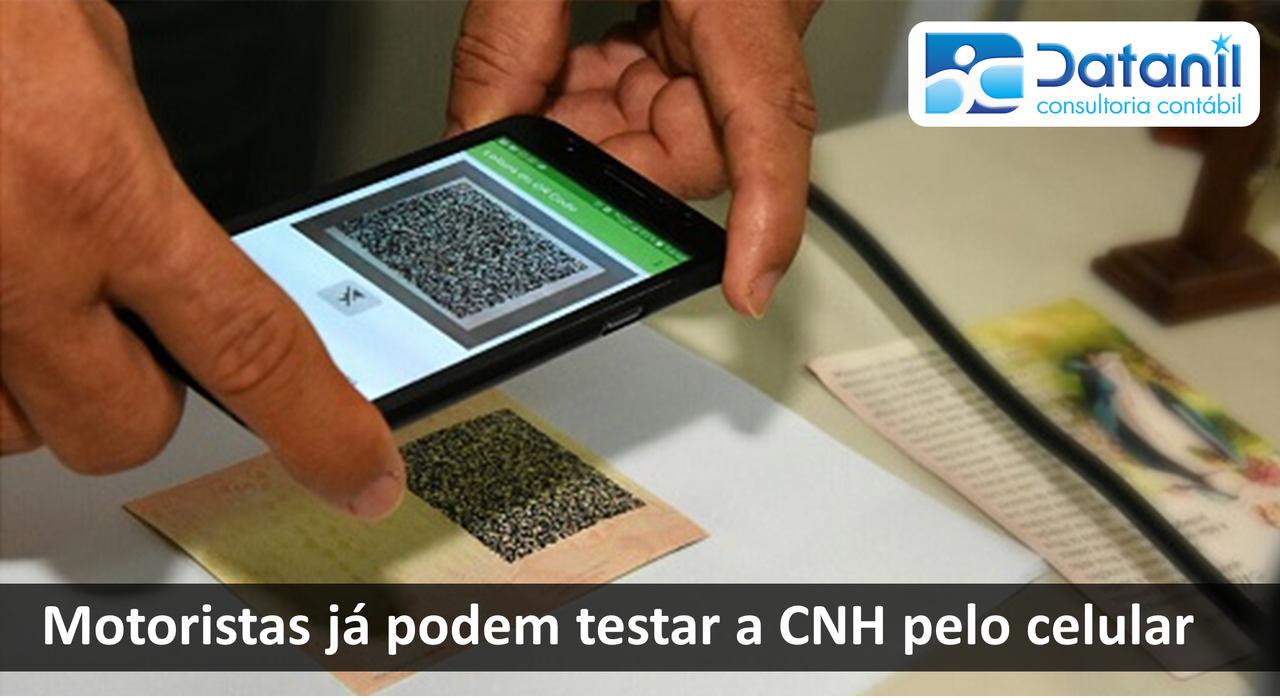 Motoristas Já Podem Testar A CNH Pelo Celular
