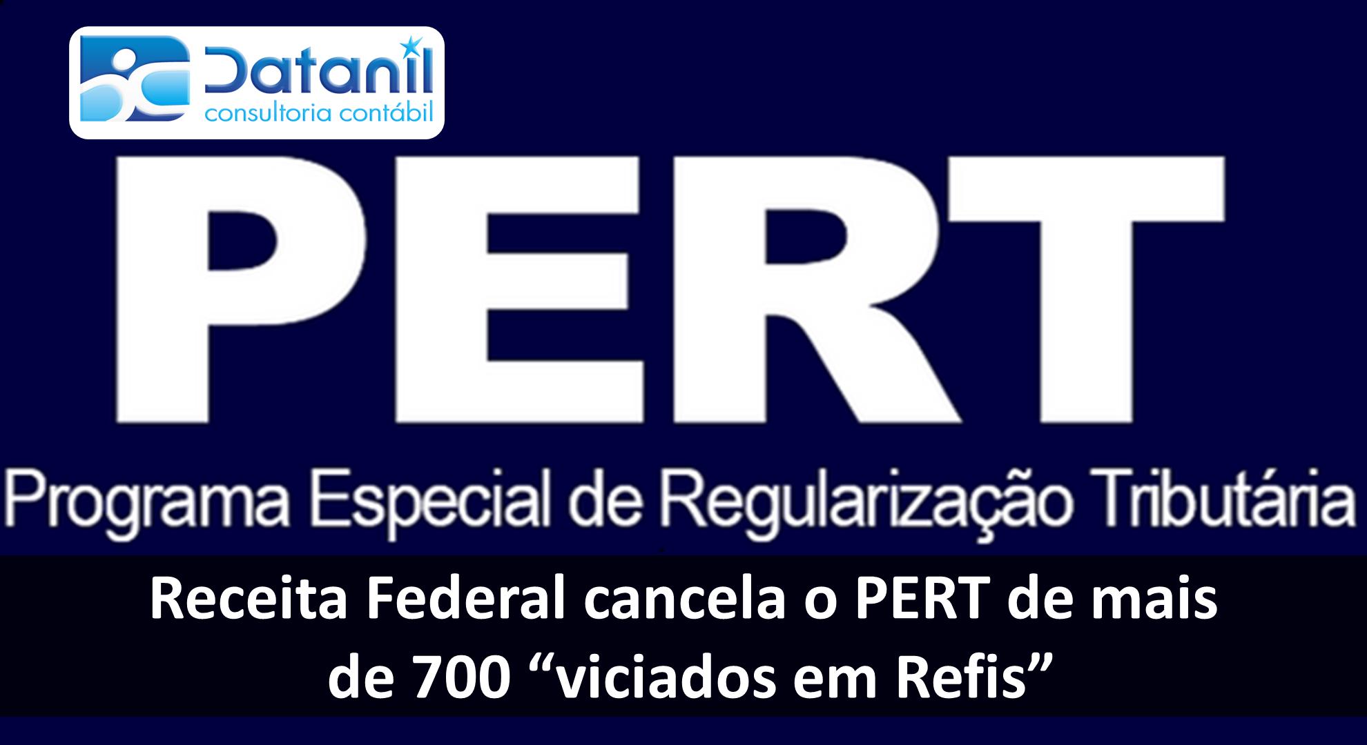 """Receita Federal Cancela O PERT De Mais De 700 """"viciados Em Refis"""""""