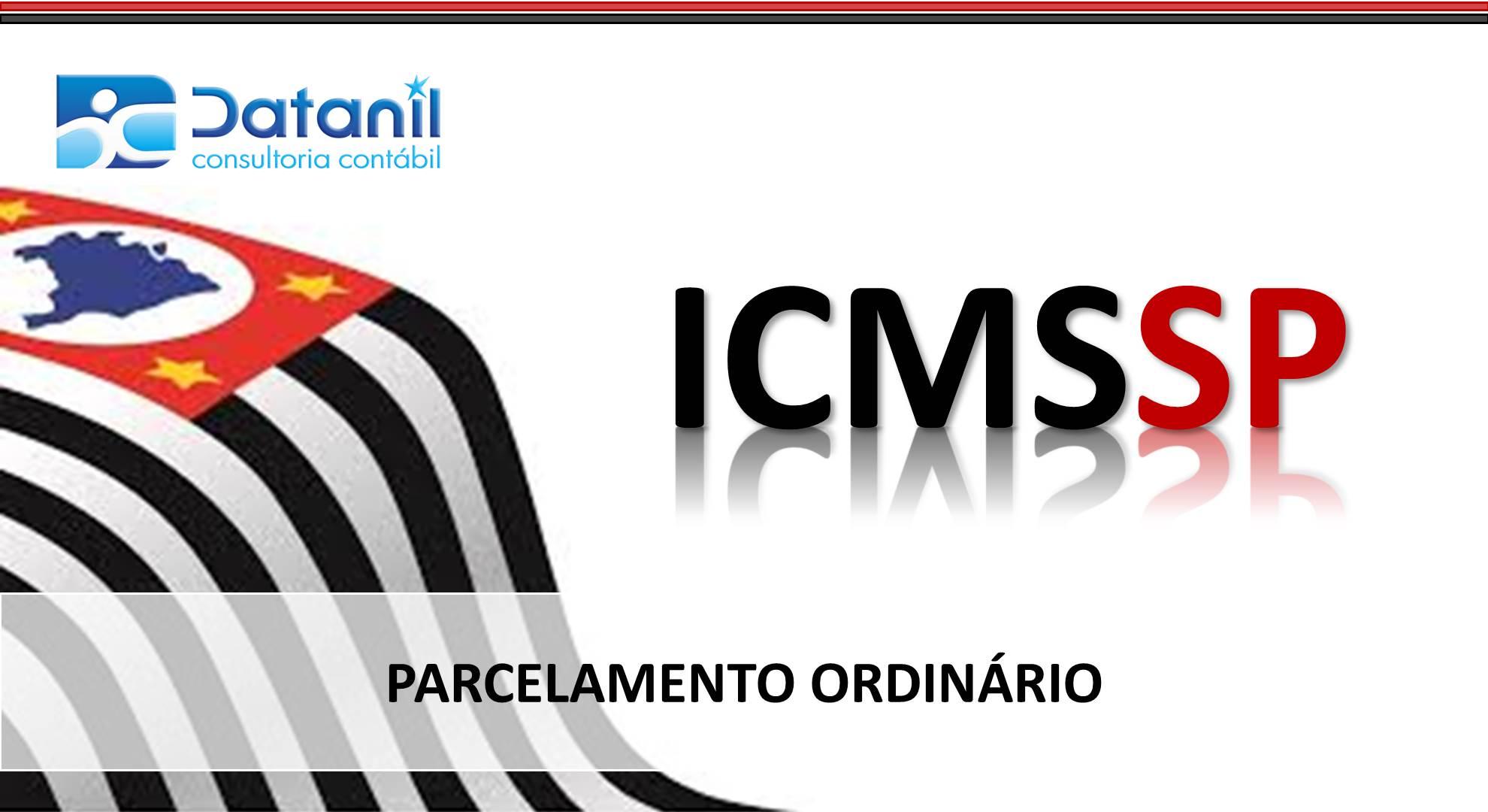 ICMS PARCELAMENTO ORDINARIO