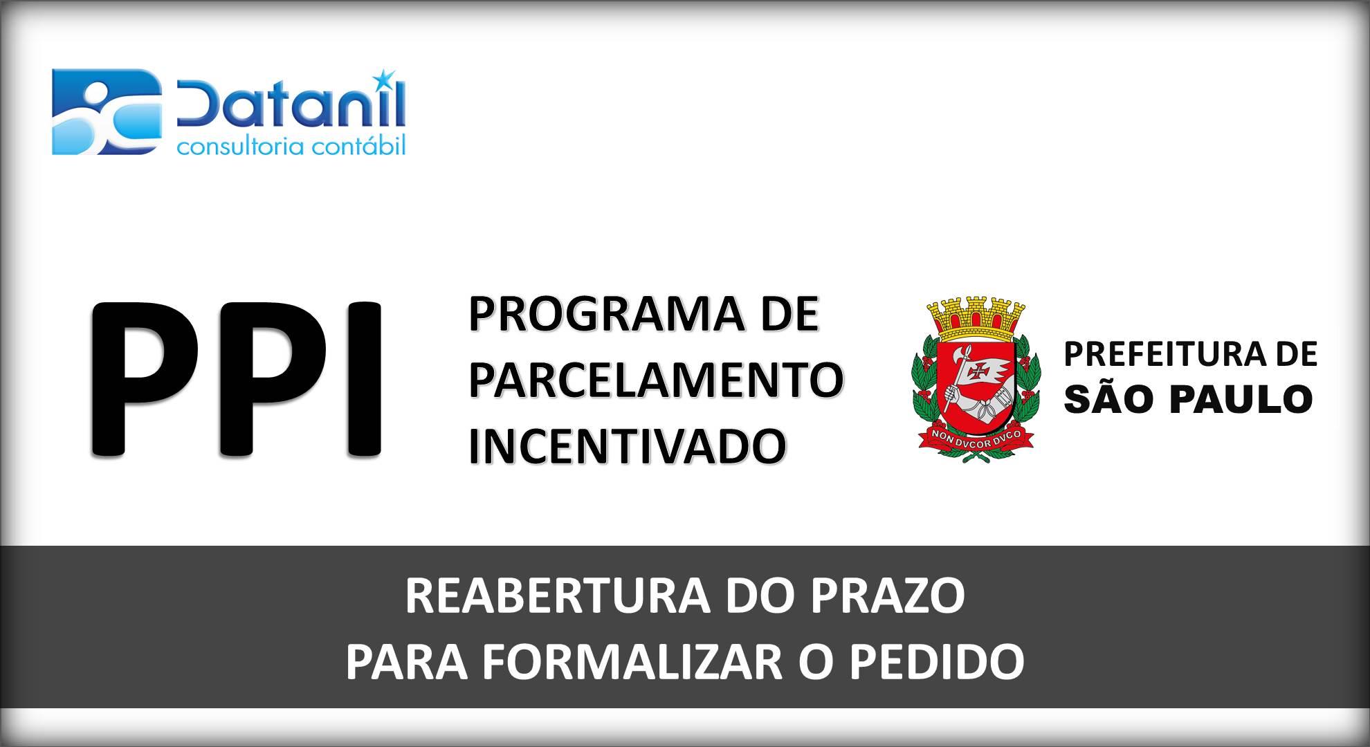 PPI – Programa De Parcelamento Incentivado