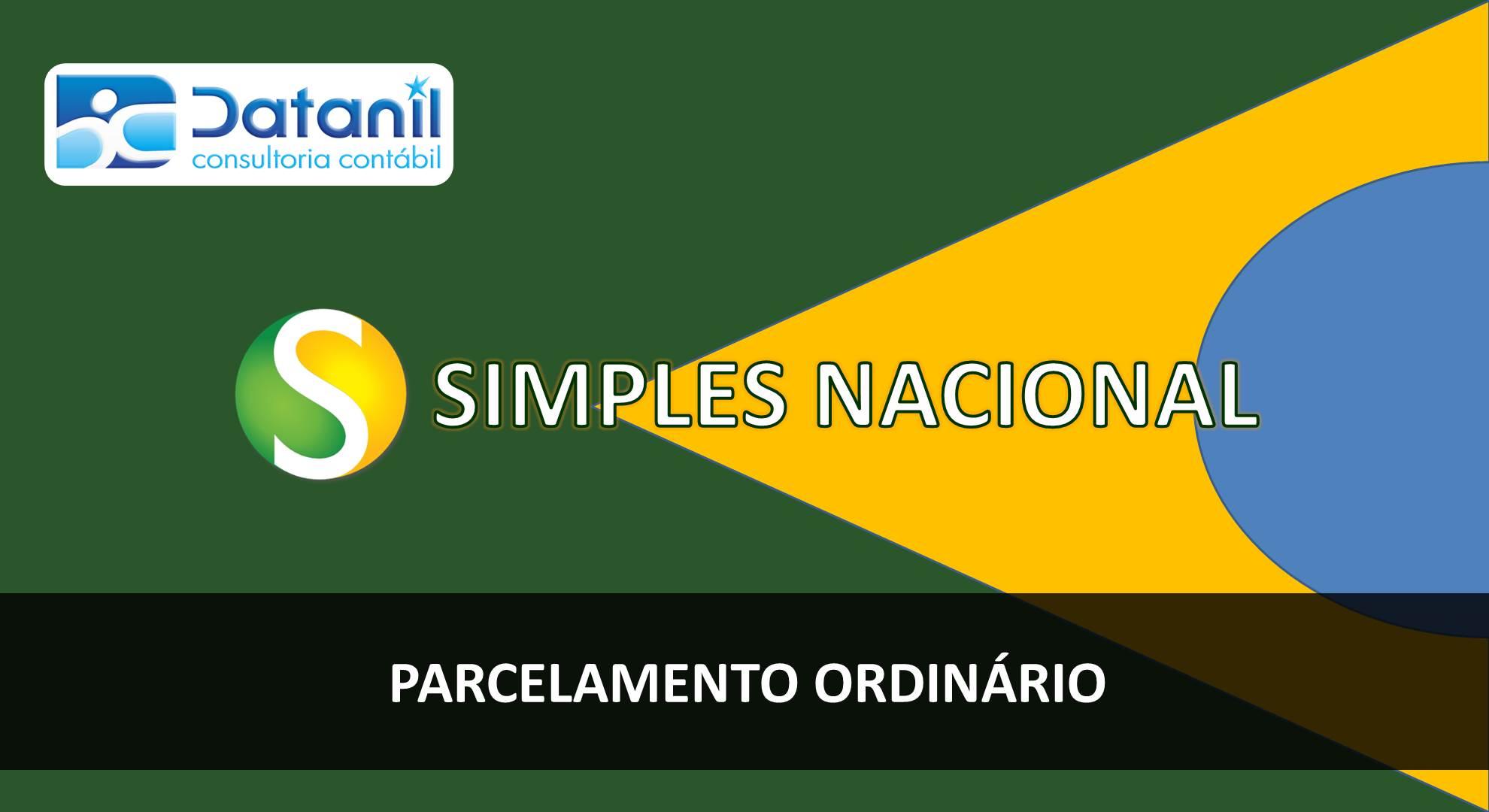 Simples Nacional – Parcelamento Ordinário