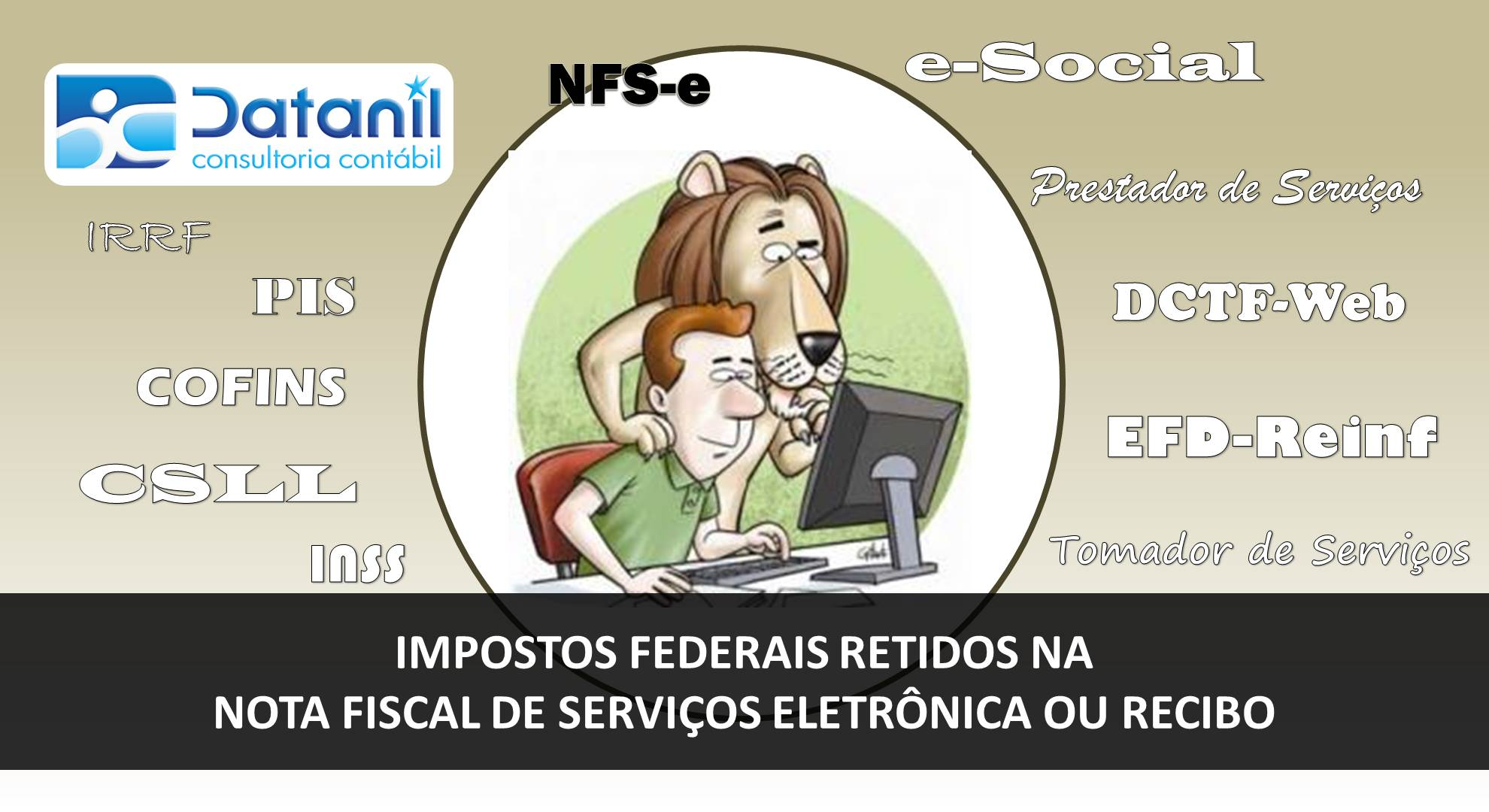Impostos Federais Retidos Na Nota Fiscal De Prestação De Serviço Eletrônica Ou Recibo