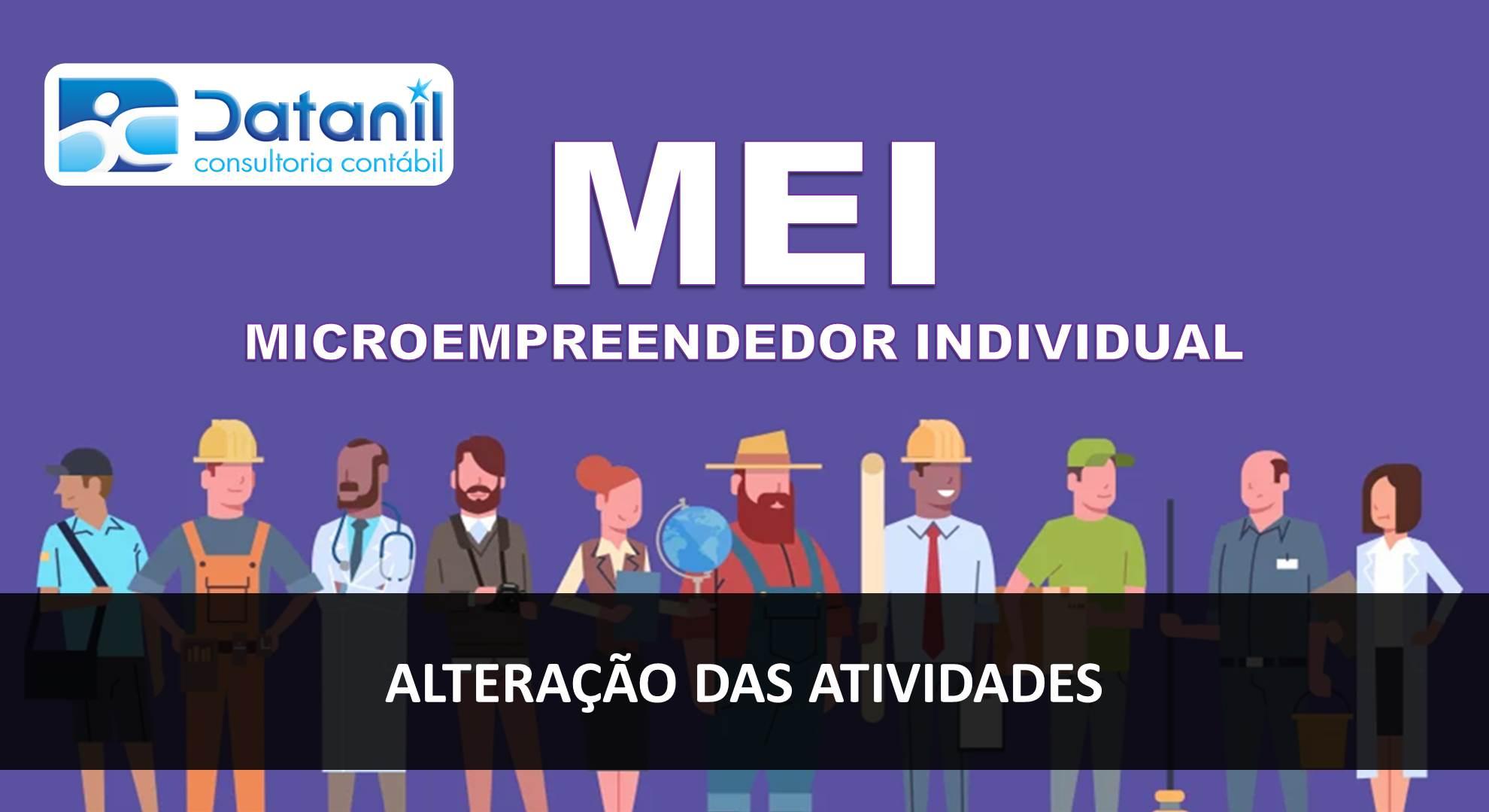 Microempreendedor Individual (MEI) – Alteração Das Atividades