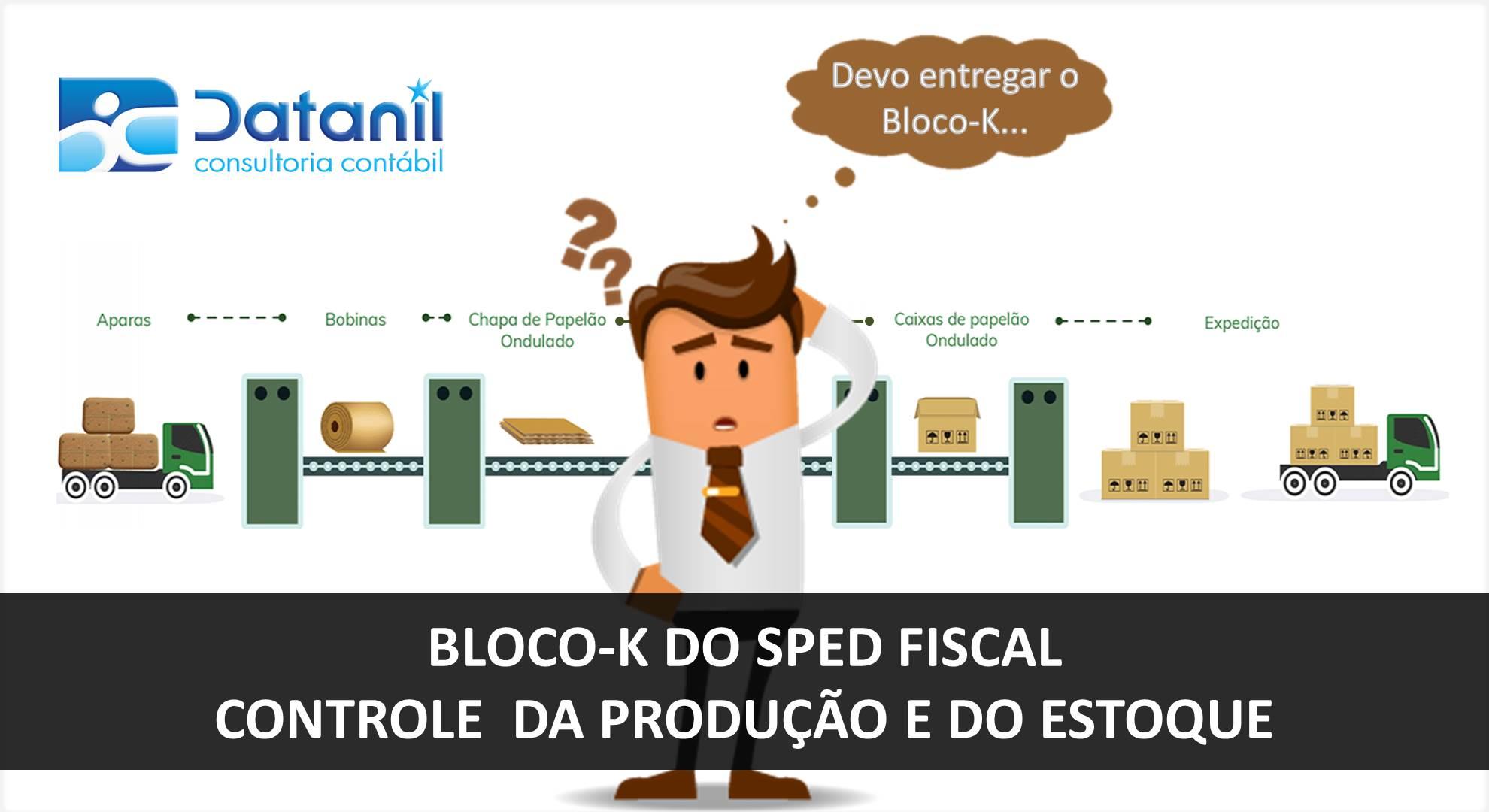 Bloco-K Do SPED Fiscal (Controle Da Produção E Do Estoque)