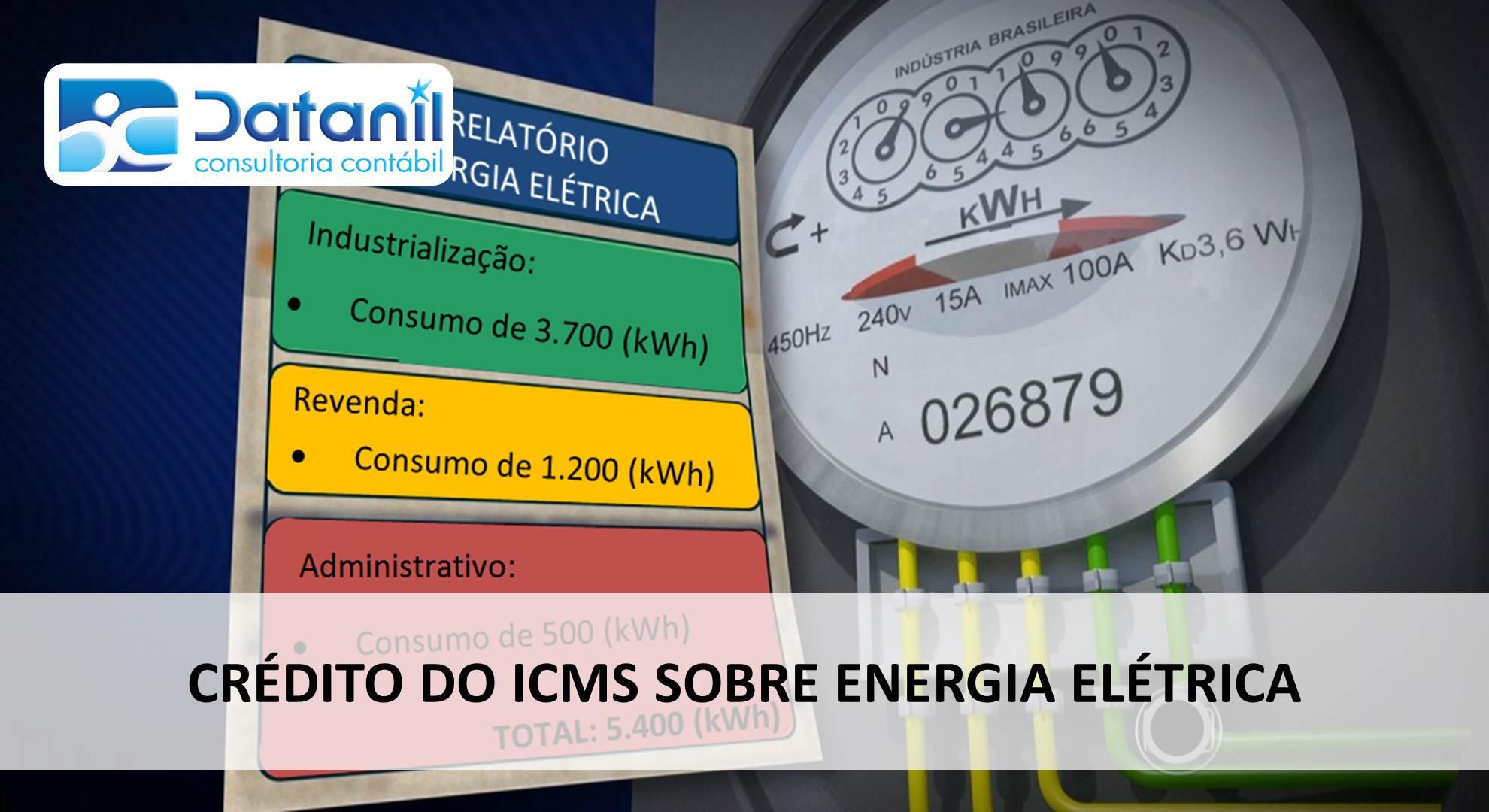 Crédito Do ICMS Sobre Energia Elétrica
