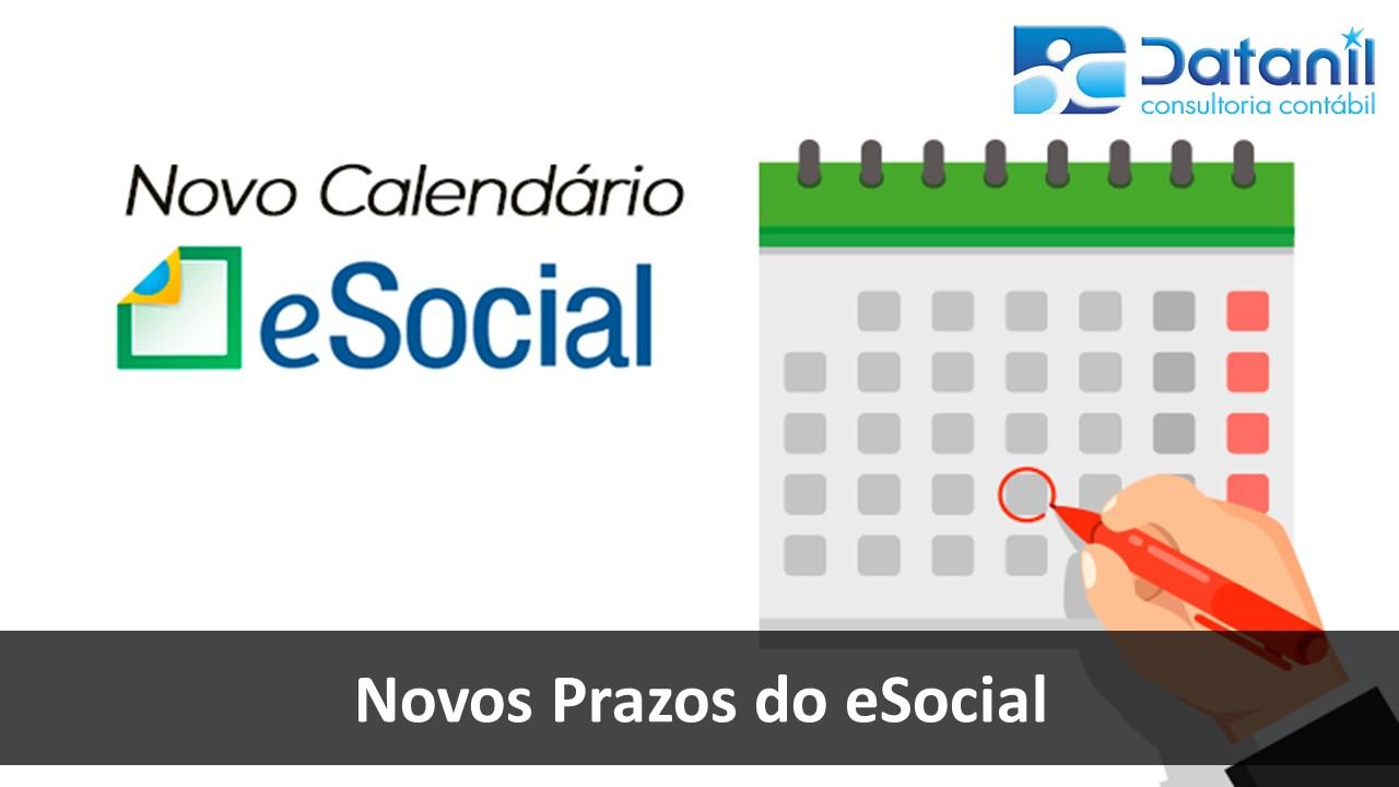 Novos Prazos Do ESocial