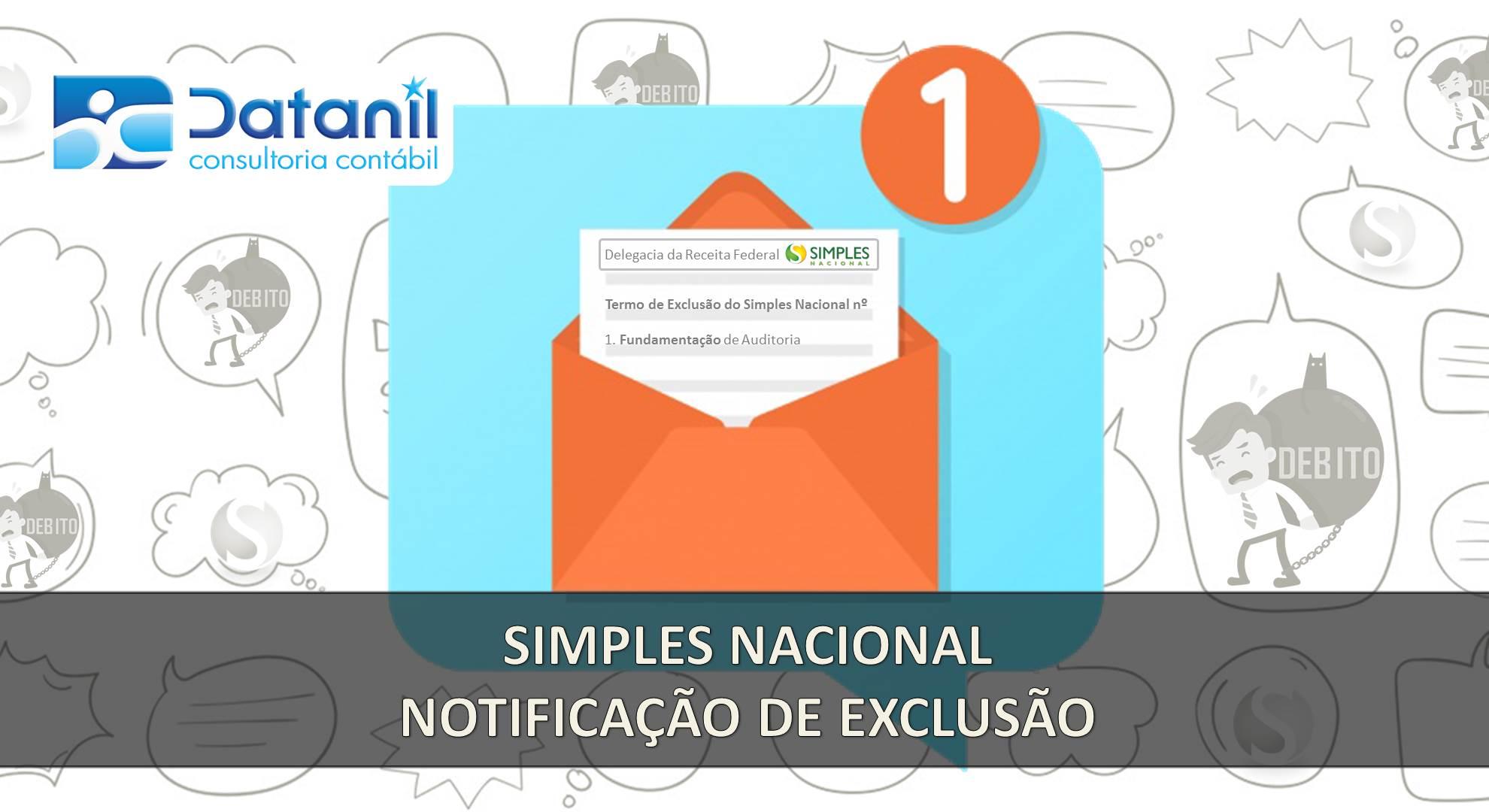 Simples Nacional – Notificação De Exclusão