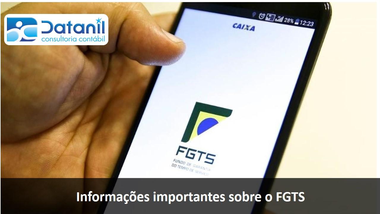 Informações Importantes Sobre O FGTS