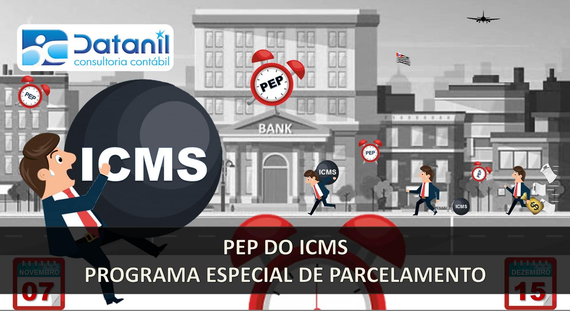 PEP Do ICMS – Programa Especial De Parcelamento