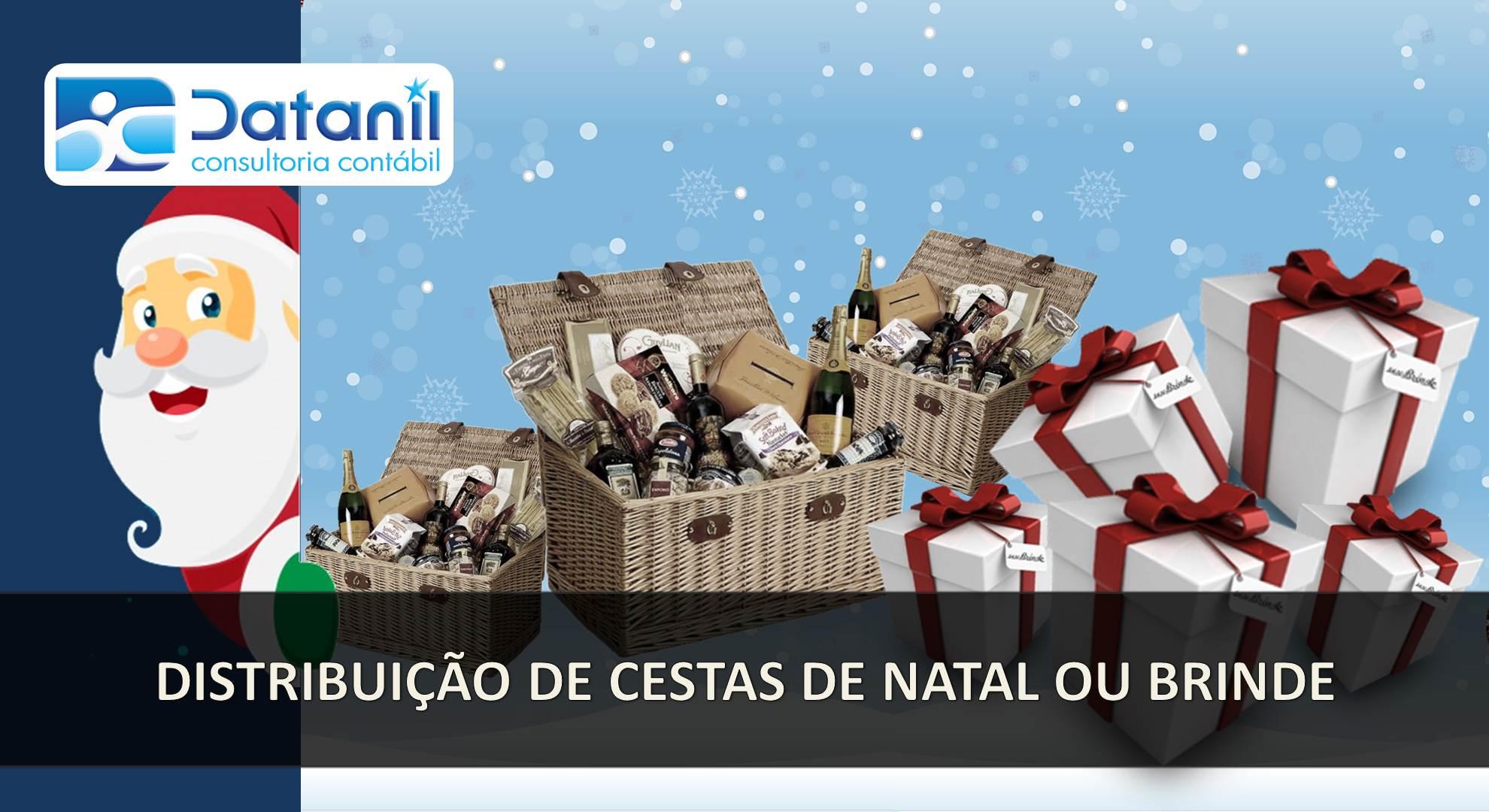 Distribuição De Cestas De Natal Ou Brindes