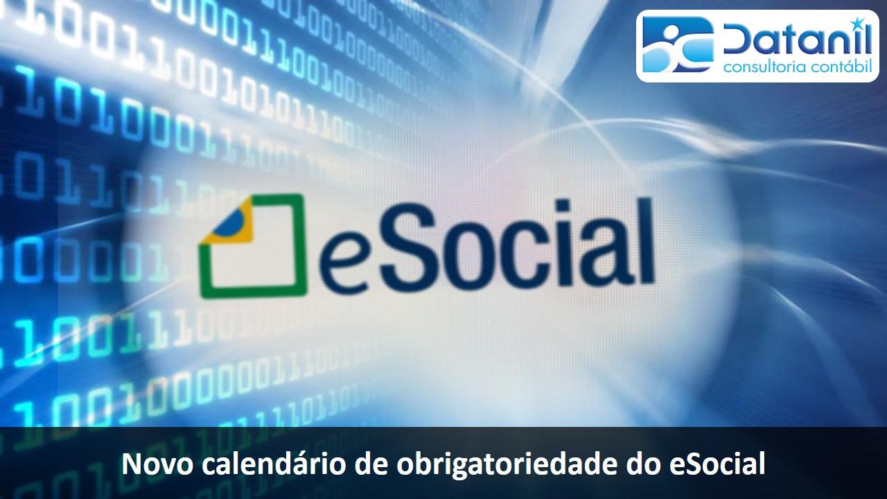 Novo Calendário De Obrigatoriedade Do ESocial