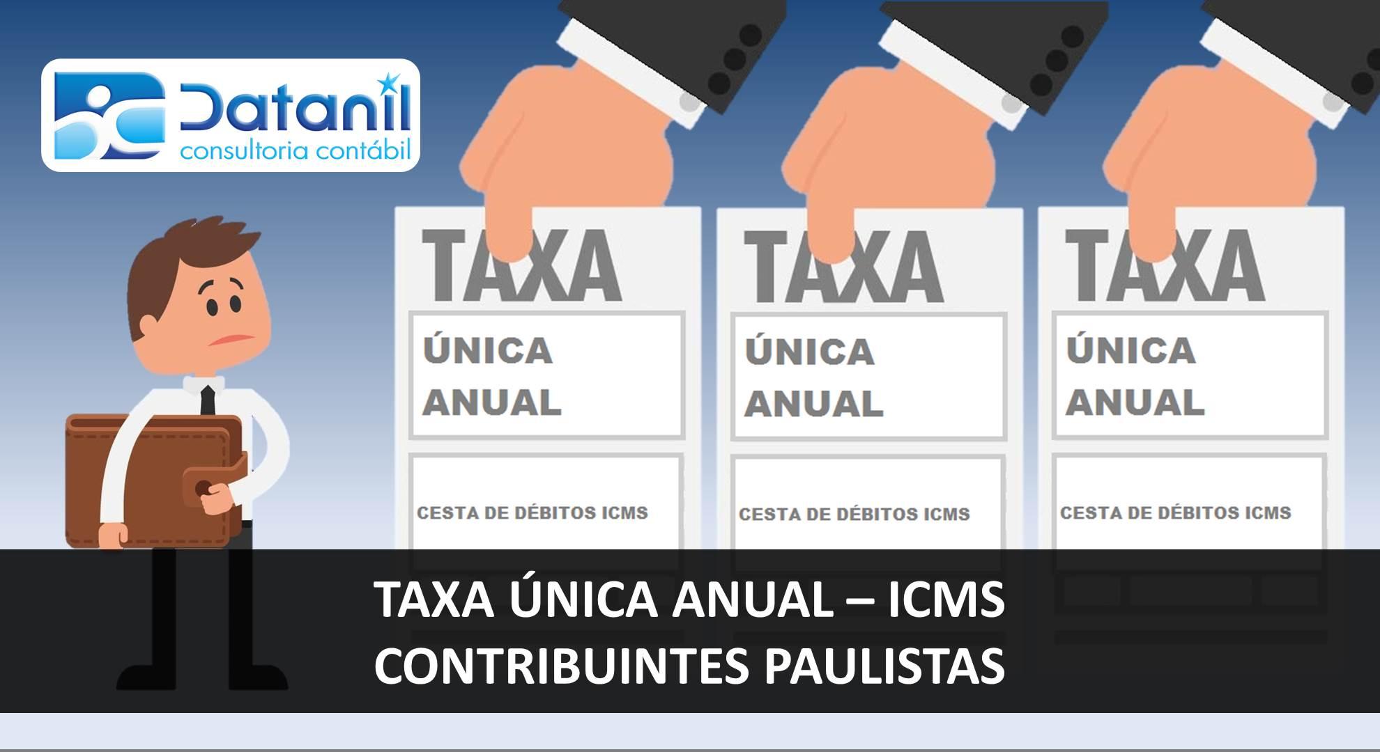 Taxa Única Anual – ICMS