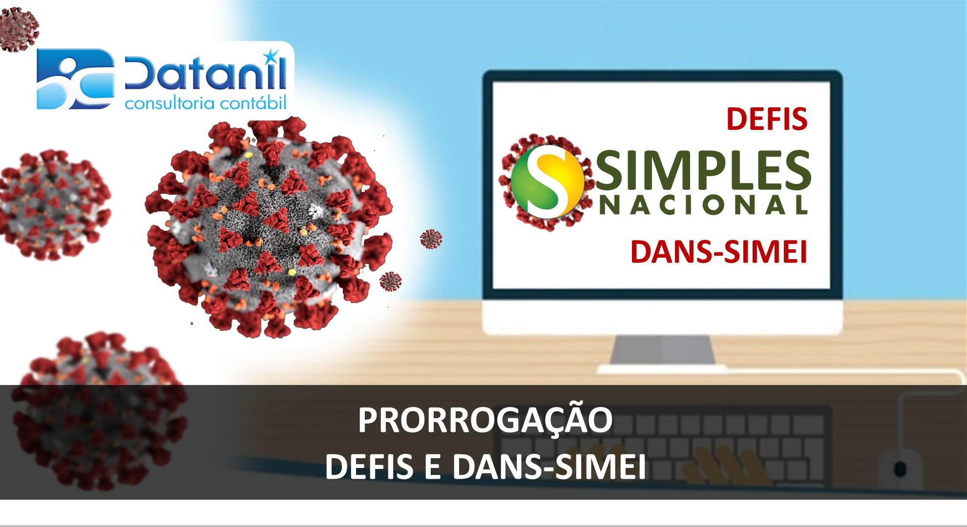 PRORROGAÇÃO DEFS DANS SIMEI