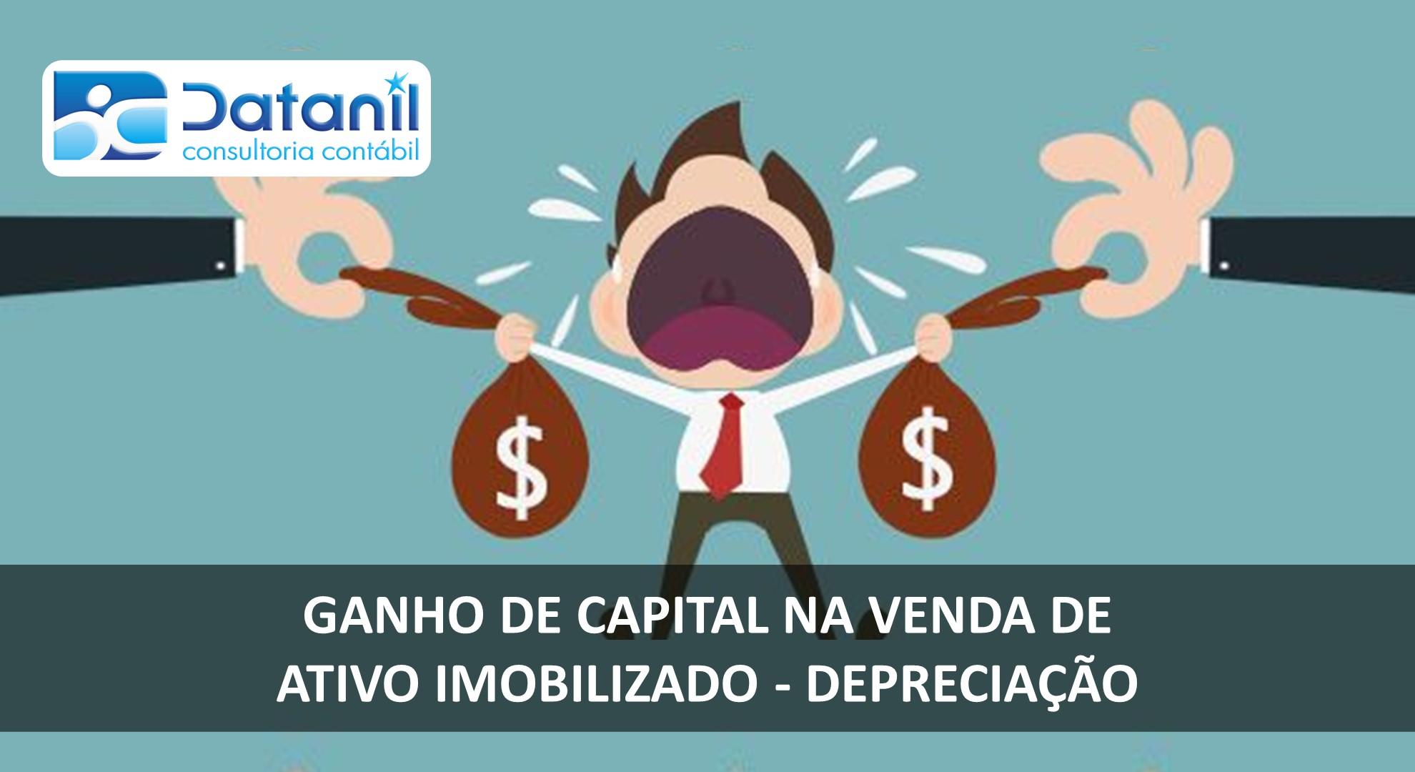 Ganho De Capital Na Venda De Ativo Imobilizado – Depreciação