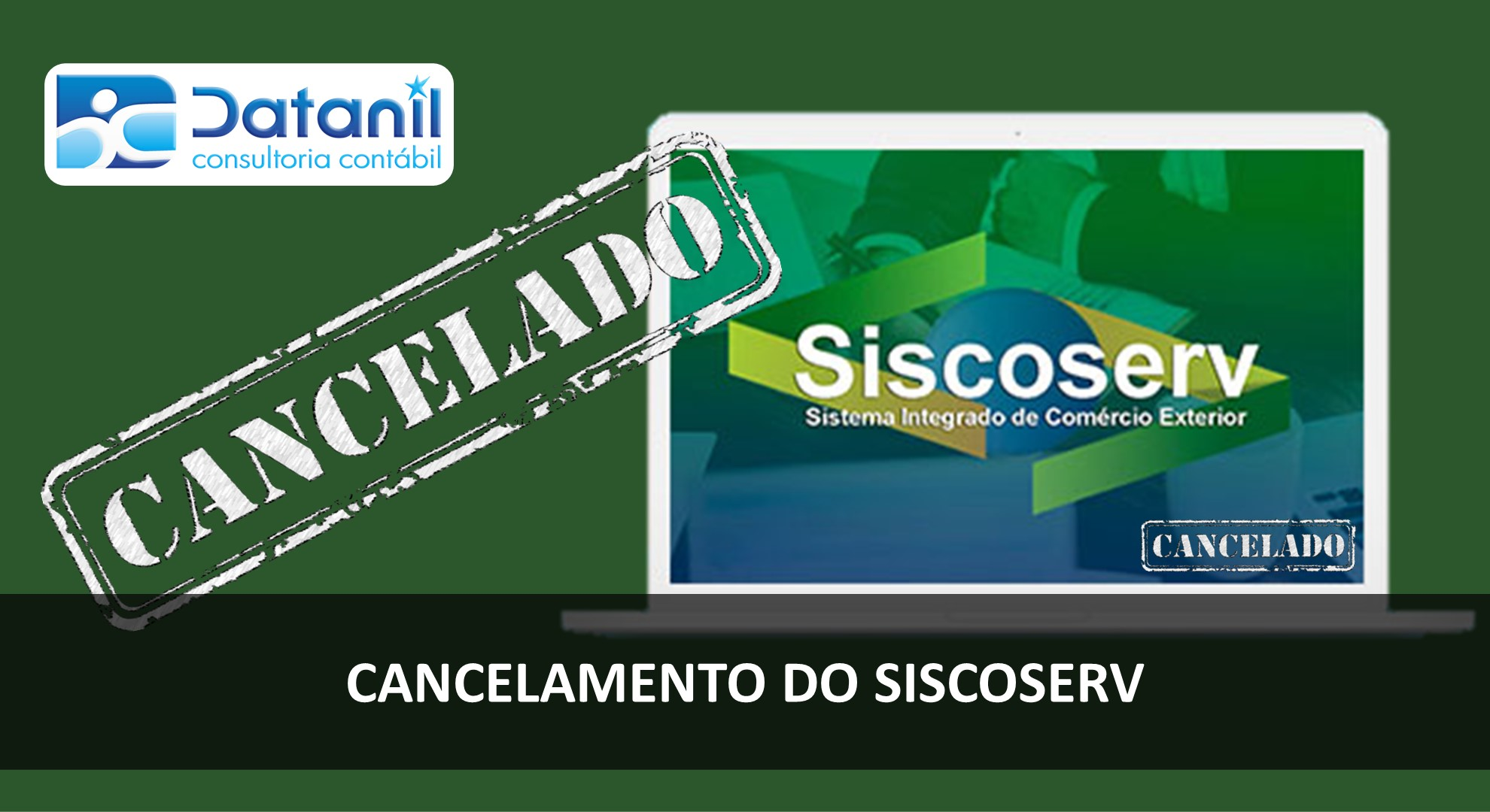 Cancelamento Do Siscoserv