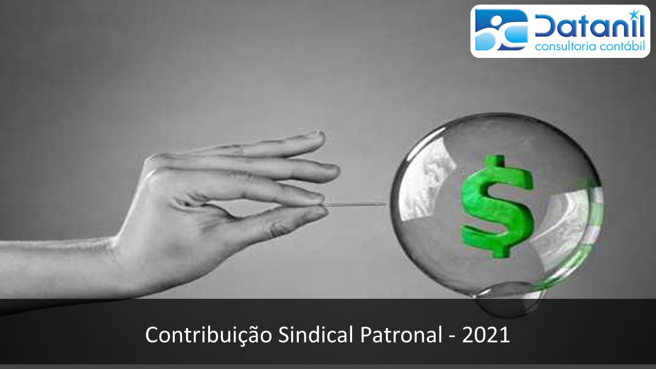 Contribuição Sindical Patronal – 2021