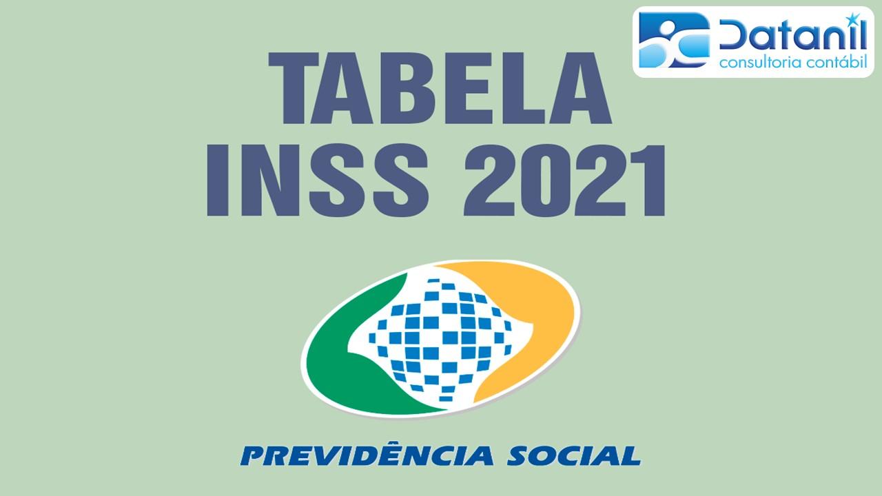 Nova Tabela INSS – 2021