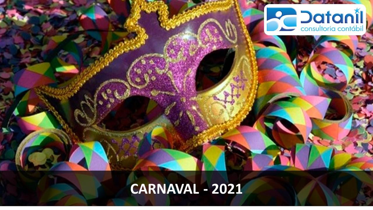 Como Fica O Carnaval De 2021